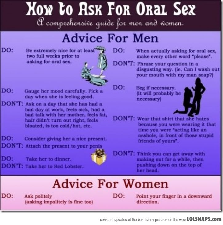 best oral sex tips for women