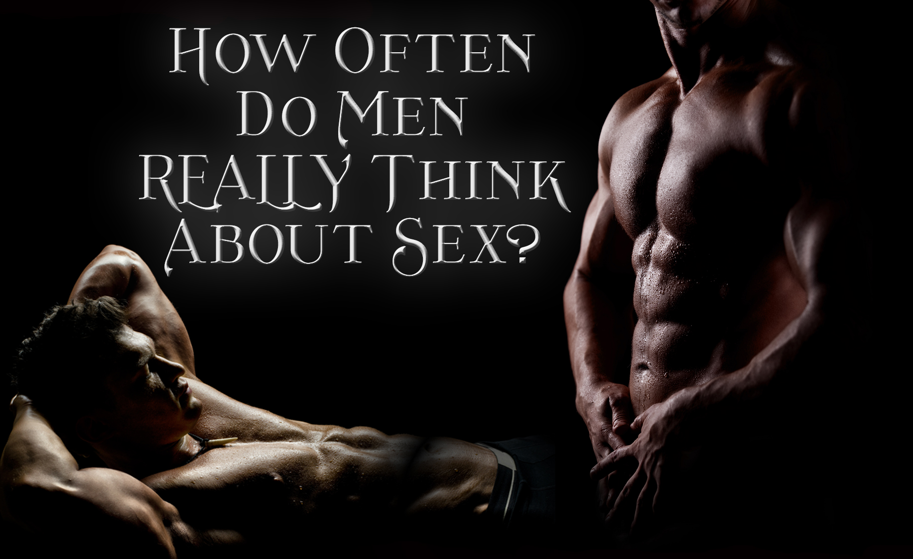 How often does a guy think about sex