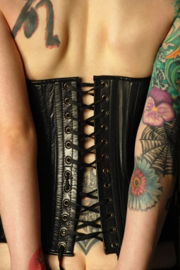 7541324 Leather corset